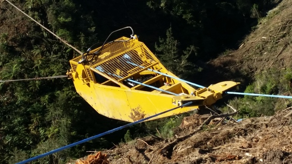 Field Demonstration of FGR Steepland Harvesting Programme, Moutere Forest, Nelson